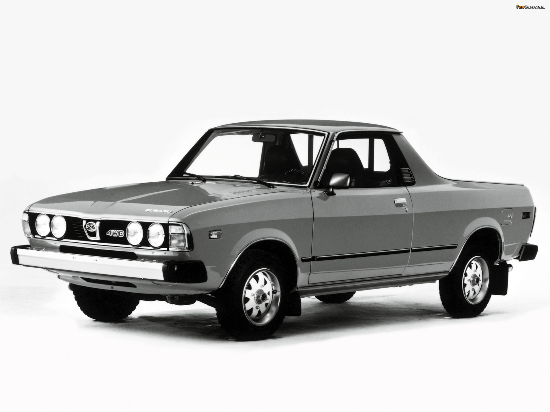 1977 Subaru Brat I want one 4x4