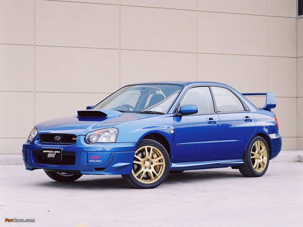 Photos Of Subaru Impreza Wrx Sti 2003 05 1024x768