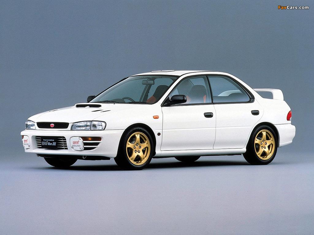 Wallpapers Of Subaru Impreza Wrx Sti 1996 98 1024x768