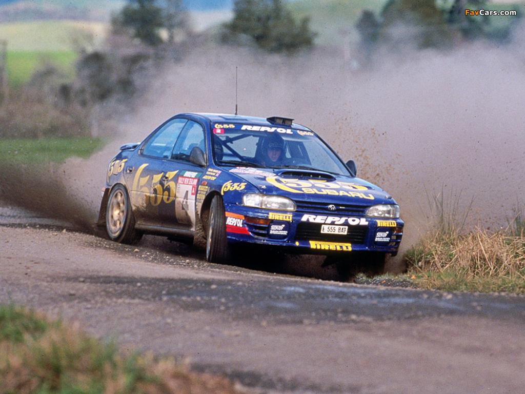 Subaru Impreza Gc8 555 S3 Group A 1993 Racing Cars