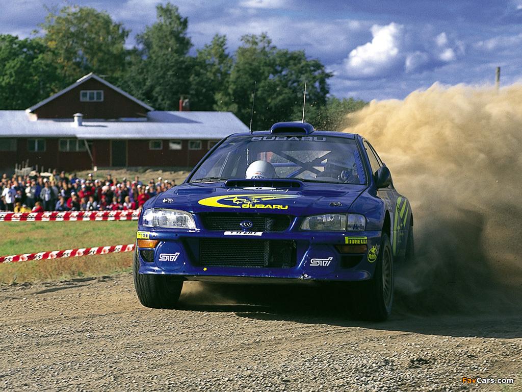 Wallpapers Of Subaru Impreza Wrc Gc8 1997 2000 1024x768