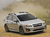 Subaru Impreza Sport Hatchback US-spec 2011 wallpapers
