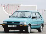 Subaru Justy 5-door 1988–94 pictures