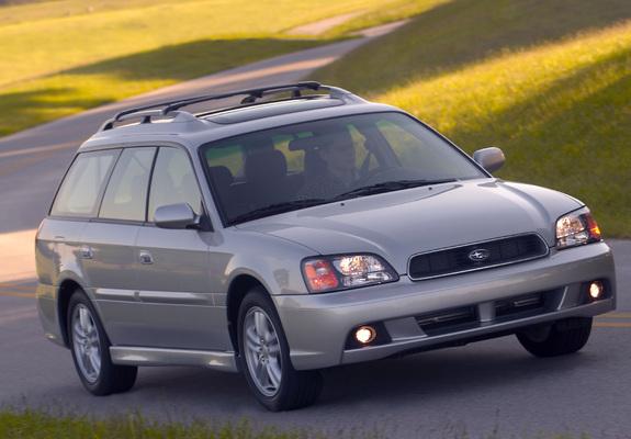 Subaru Legacy 2 5i Station Wagon Us Spec Be Bh 1998 2003 Images