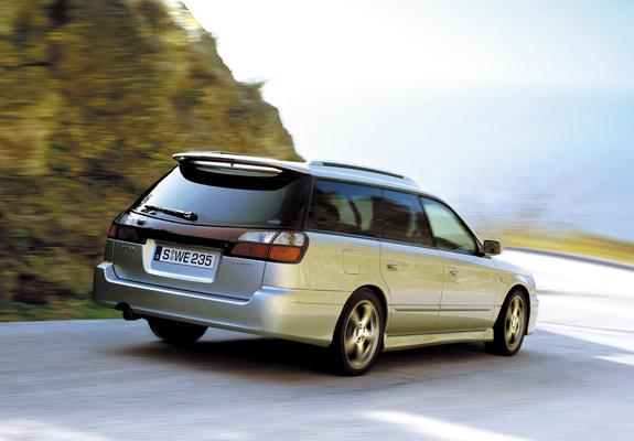 Subaru Legacy 3 0 Gt30 Touring Wagon Be Bh 2002 03 Photos