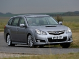 Subaru Legacy Wagon 2.0D UK-spec (BR) 2009–12 wallpapers