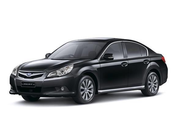 Subaru Liberty 2 5 Gt S 2009 Wallpapers 1280x960