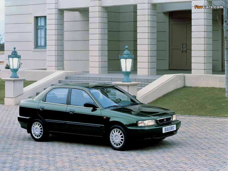 Suzuki Baleno Sedan 1995–99 photos (800 x 600)