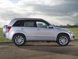Photos of Suzuki Grand Vitara 5-door UK-spec 2012