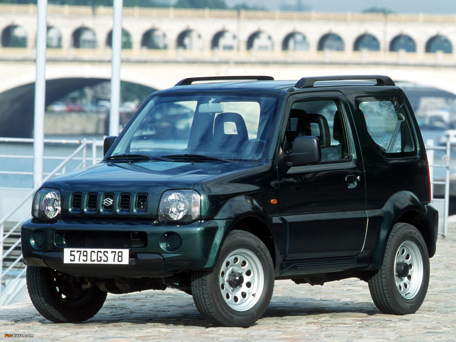 Suzuki Jimny Скачать Руководство