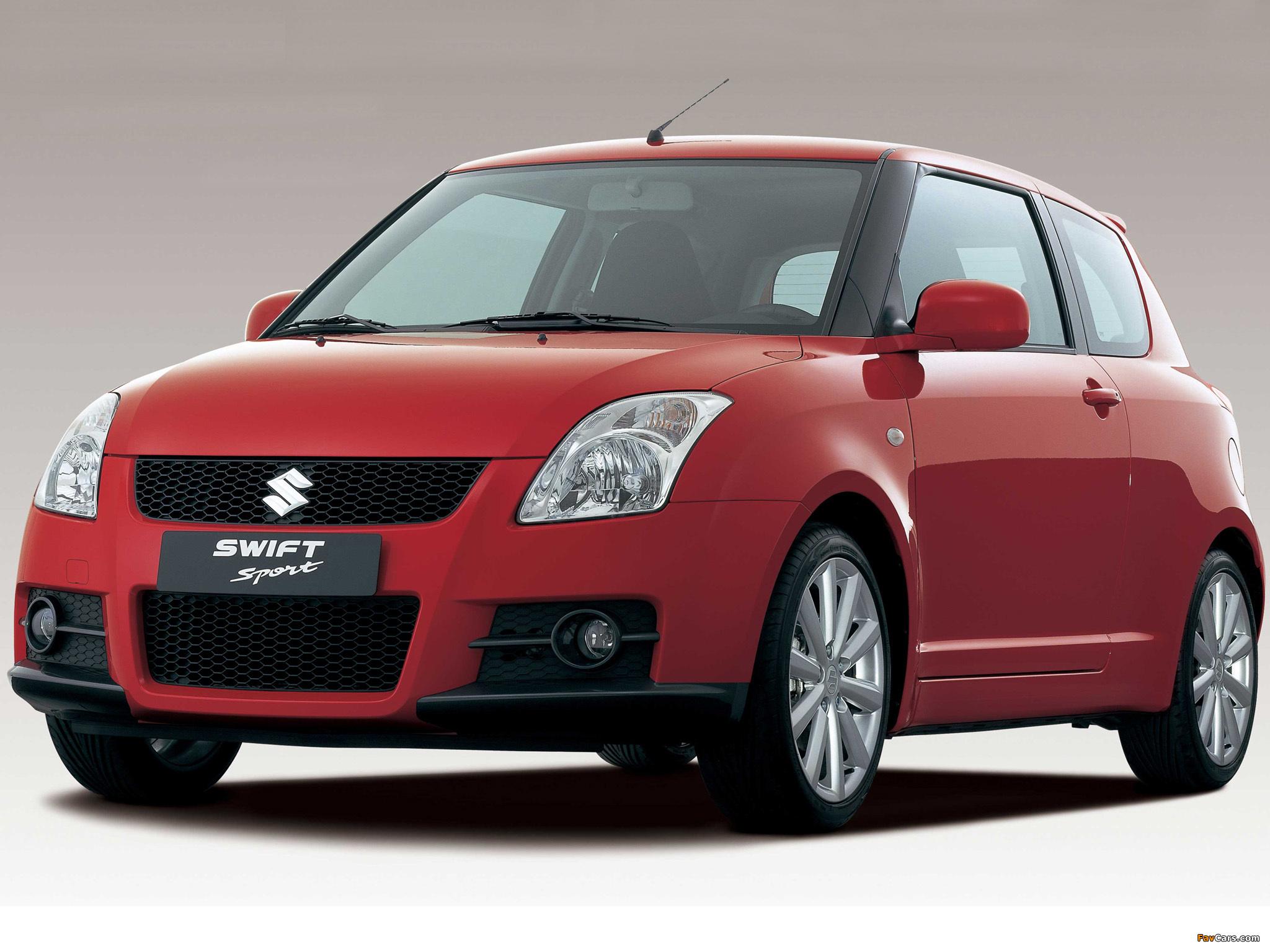 Photos Of Suzuki Swift Sport 2005 11 2048x1536