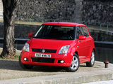 Suzuki Swift 5-door 2004–10 images