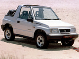 Suzuki Vitara Canvas Top UK-spec 1989–98 wallpapers
