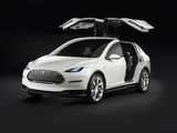 Images of Tesla Model X Prototype 2012