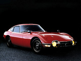 Photos of Toyota 2000GT JP-spec (MF10) 1967–70