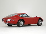 Toyota 2000GT JP-spec (MF10) 1967–70 wallpapers