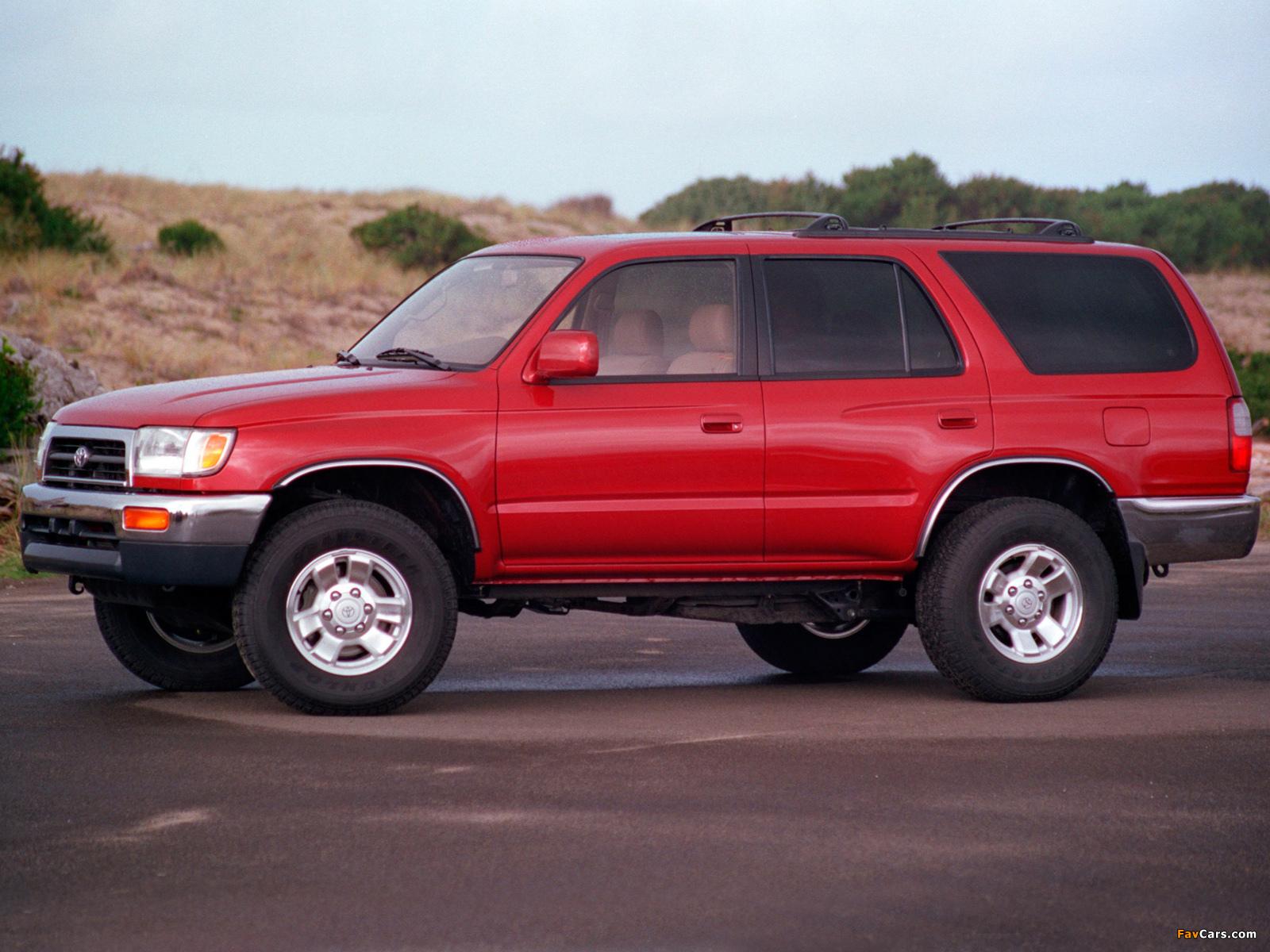 4 Runner >> Toyota 4Runner 1996–99 photos (1600x1200)