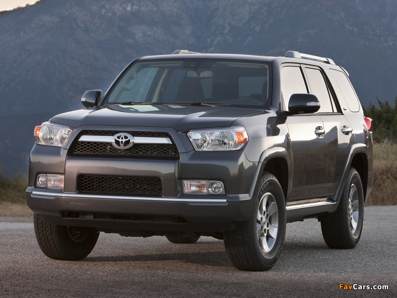 Toyota 4Runner SR5 2009 pictures (800x600)