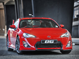 Photos of Toyota 86 Limited Edition ZA-spec 2014