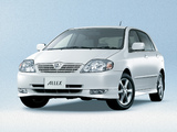 Toyota Allex 2001–02 wallpapers