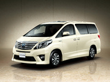 Photos of Toyota Alphard Hybrid SR C Package (ANH20W) 2011