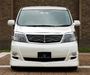 LX-Mode Toyota Alphard (H10W) wallpapers