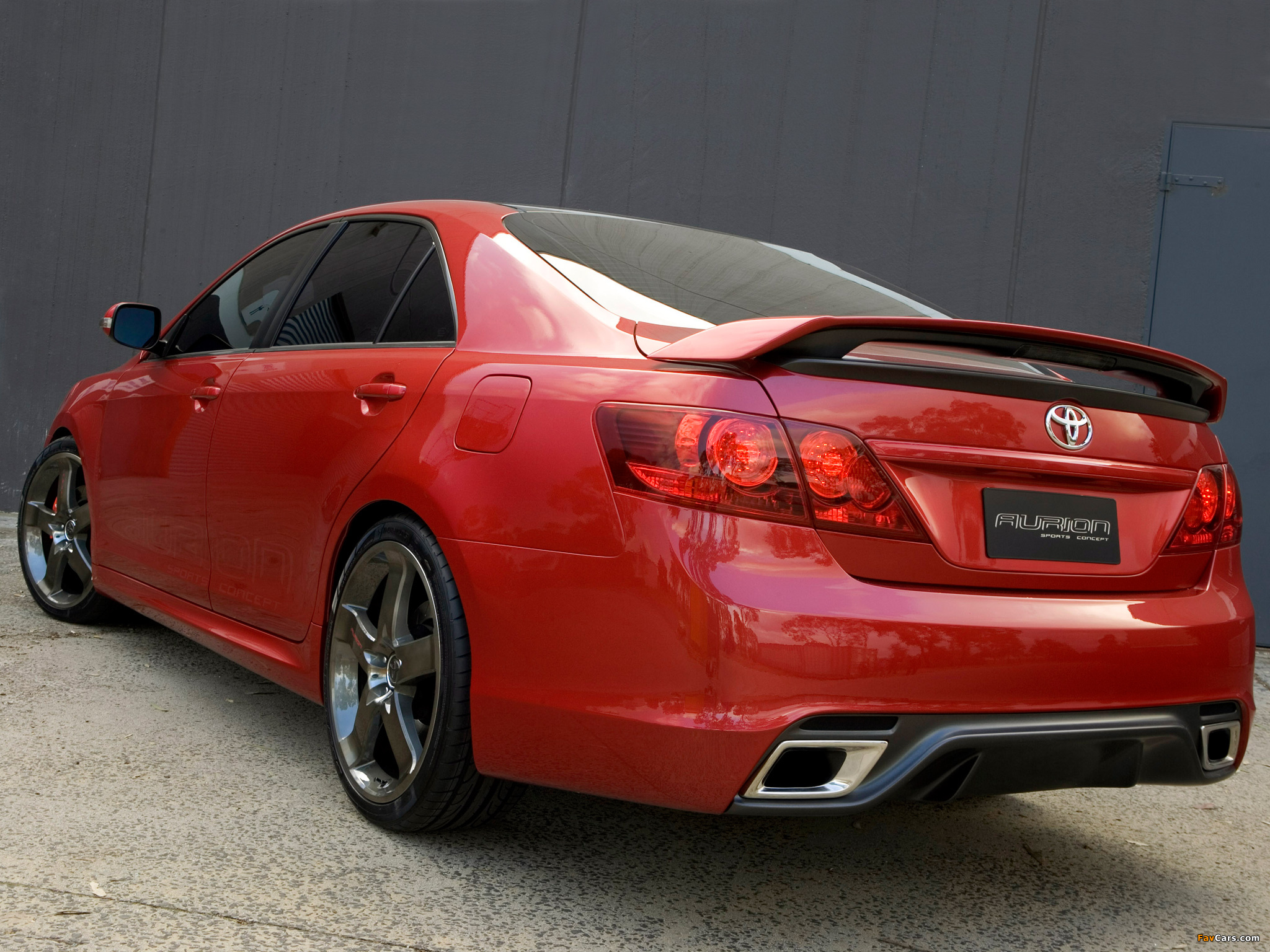 Toyota Camry Features Photos of TRD Toyota Aurion 2007 (2048x1536)