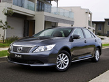 Toyota Aurion AT-X (XV50) 2012 wallpapers