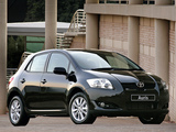 Toyota Auris 5-door ZA-spec 2007–10 wallpapers