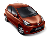 Toyota Aygo 5-door ZA-spec 2012 photos