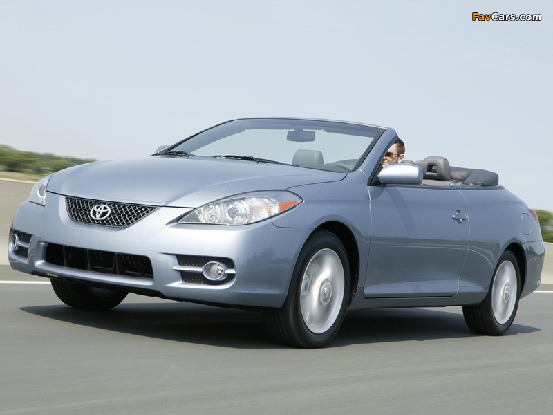 Images Of Toyota Camry Solara Convertible 2006 09 800x600
