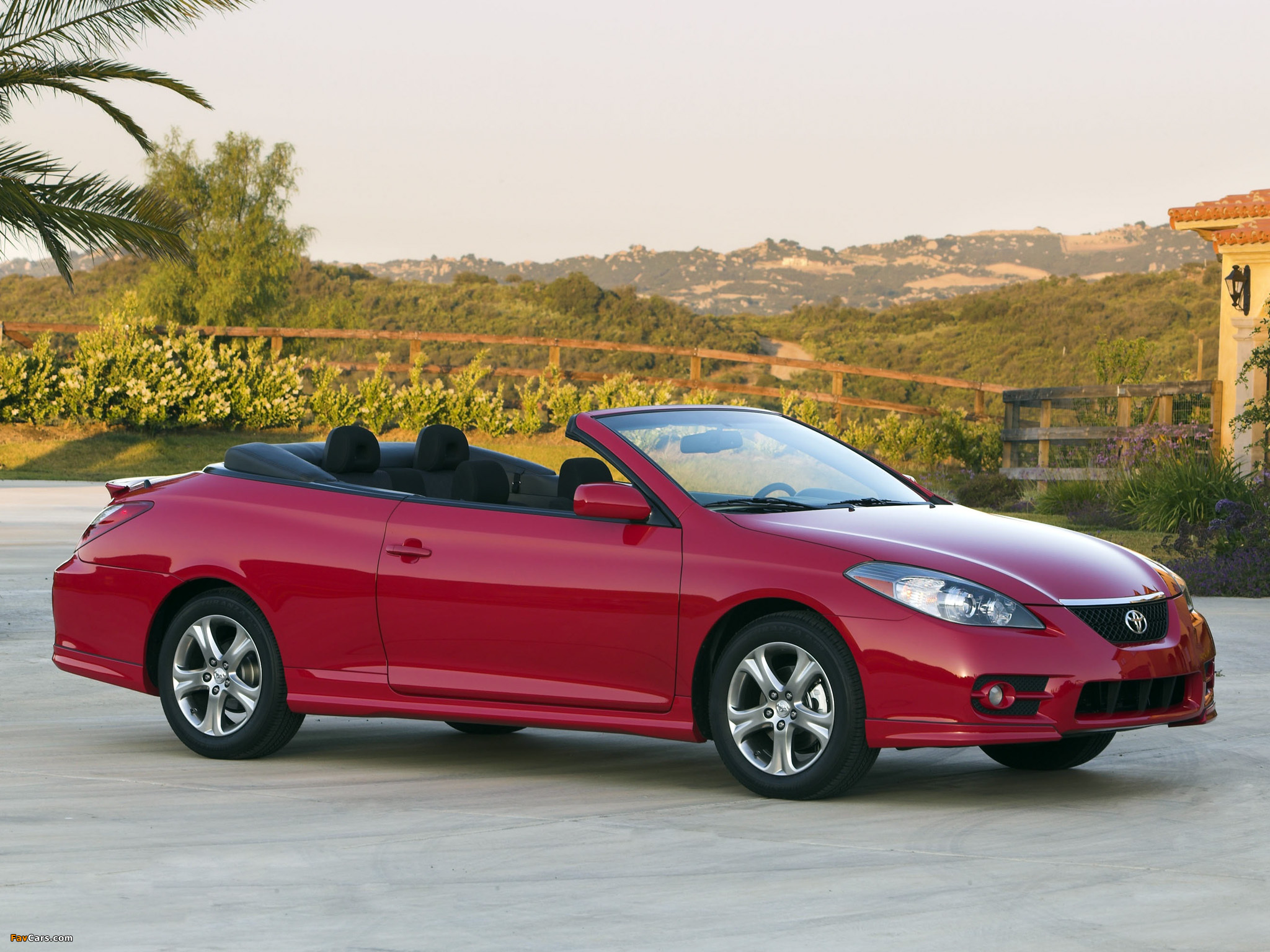 Toyota Camry Solara Sport Convertible 2006 09 Pictures