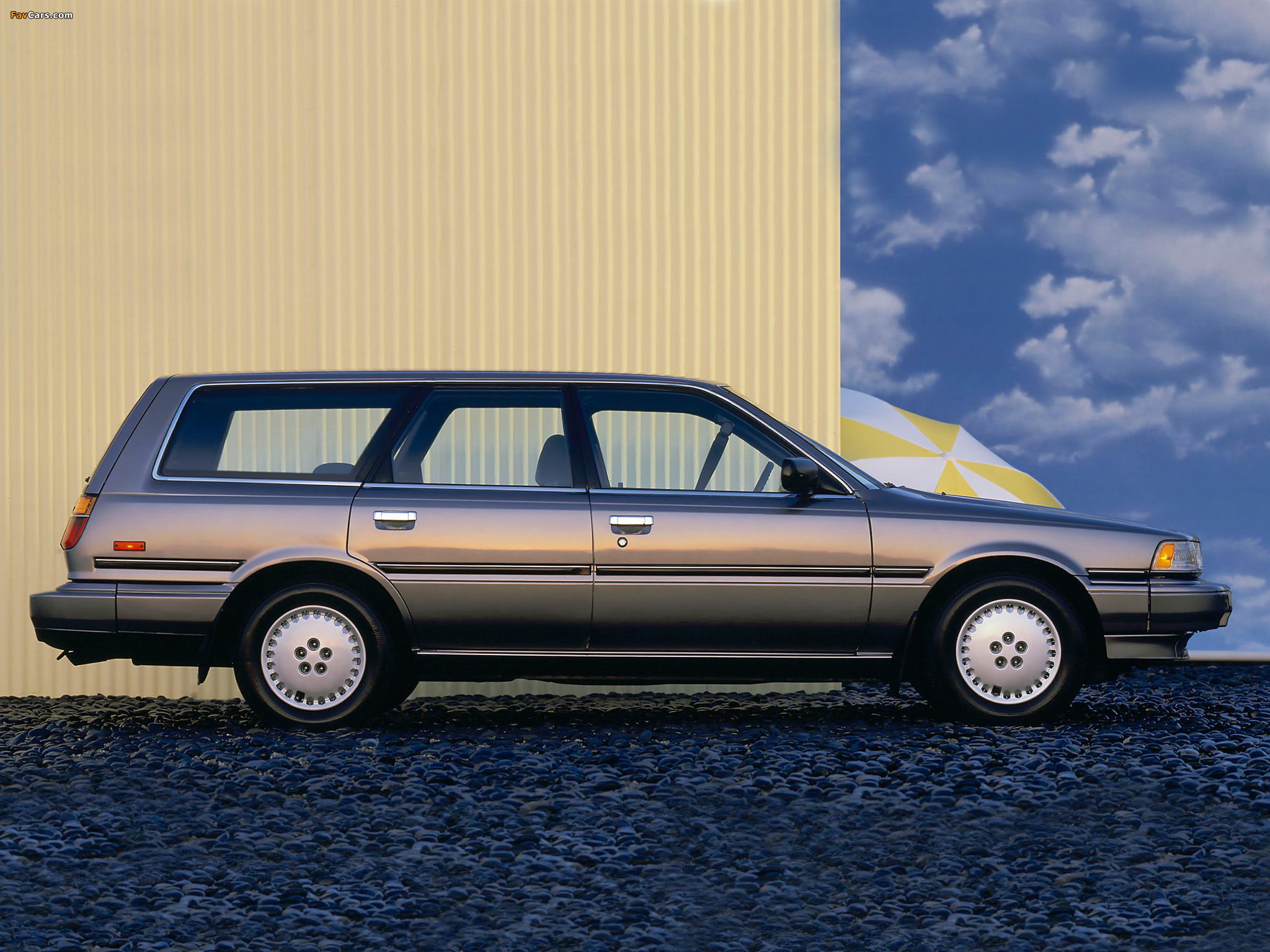Toyota Camry Wagon V20 1986 91 Photos 2048x1536