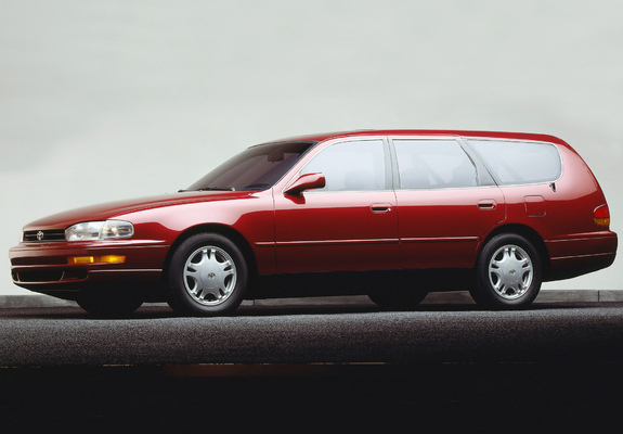 toyota camry wagon us spec xv10 1992 96 pictures. Black Bedroom Furniture Sets. Home Design Ideas