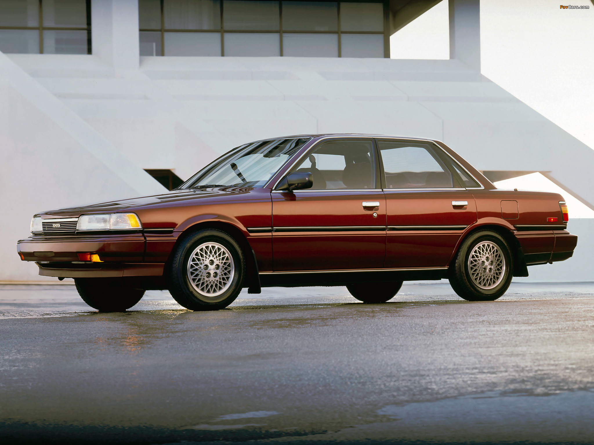 Wallpapers Of Toyota Camry Sedan Le Us Spec 1986 90