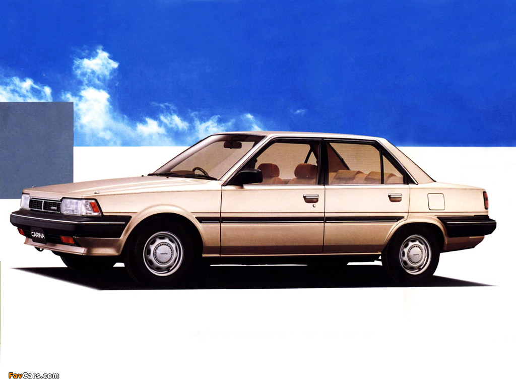 Toyota Carina Sg Extra At150 1987 88 Images 1024x768