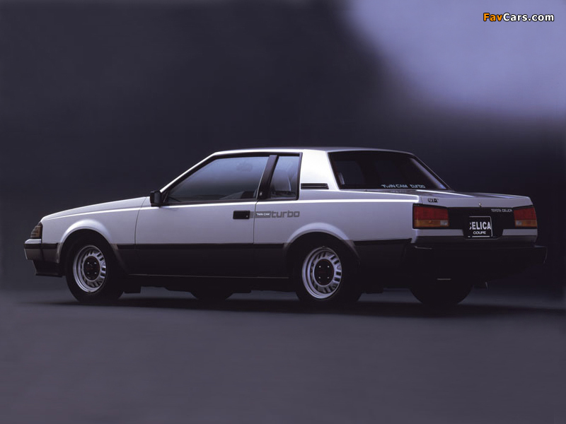 Toyota Celica Coupe Gt T Ta63 1982 85 Images 800x600
