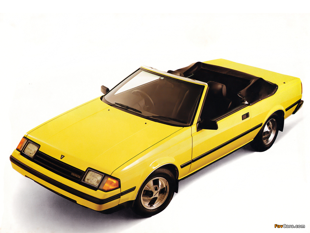 Toyota Celica Sunchaser Convertible 1982 85 Pictures