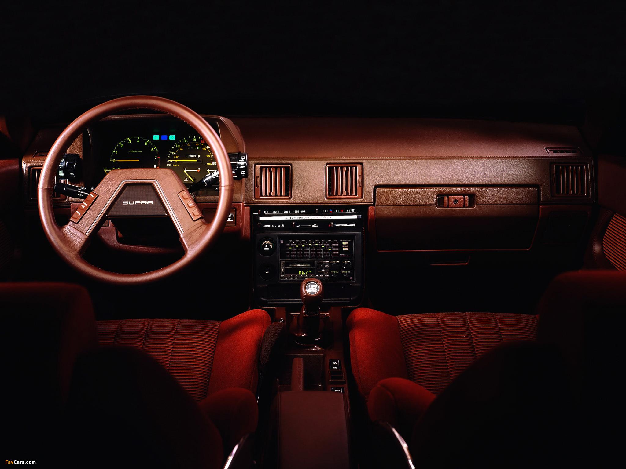 Toyota Celica Supra Ma61 1982 84 Wallpapers 2048x1536