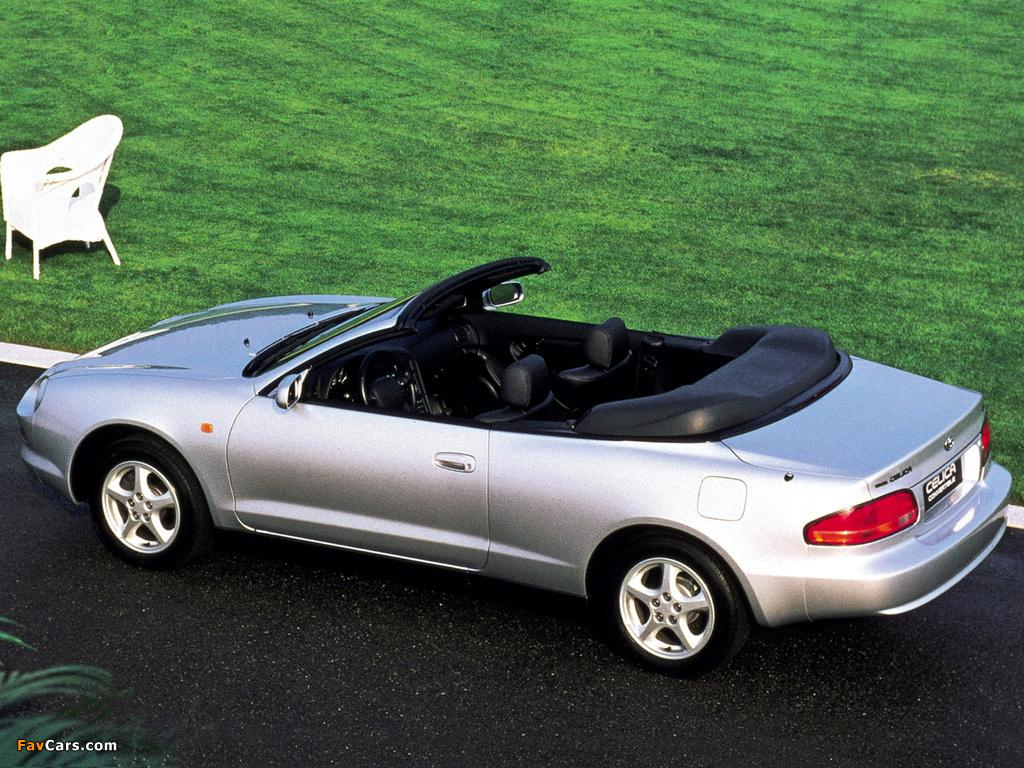 Toyota Celica Convertible 1994–99 photos (1024 x 768)