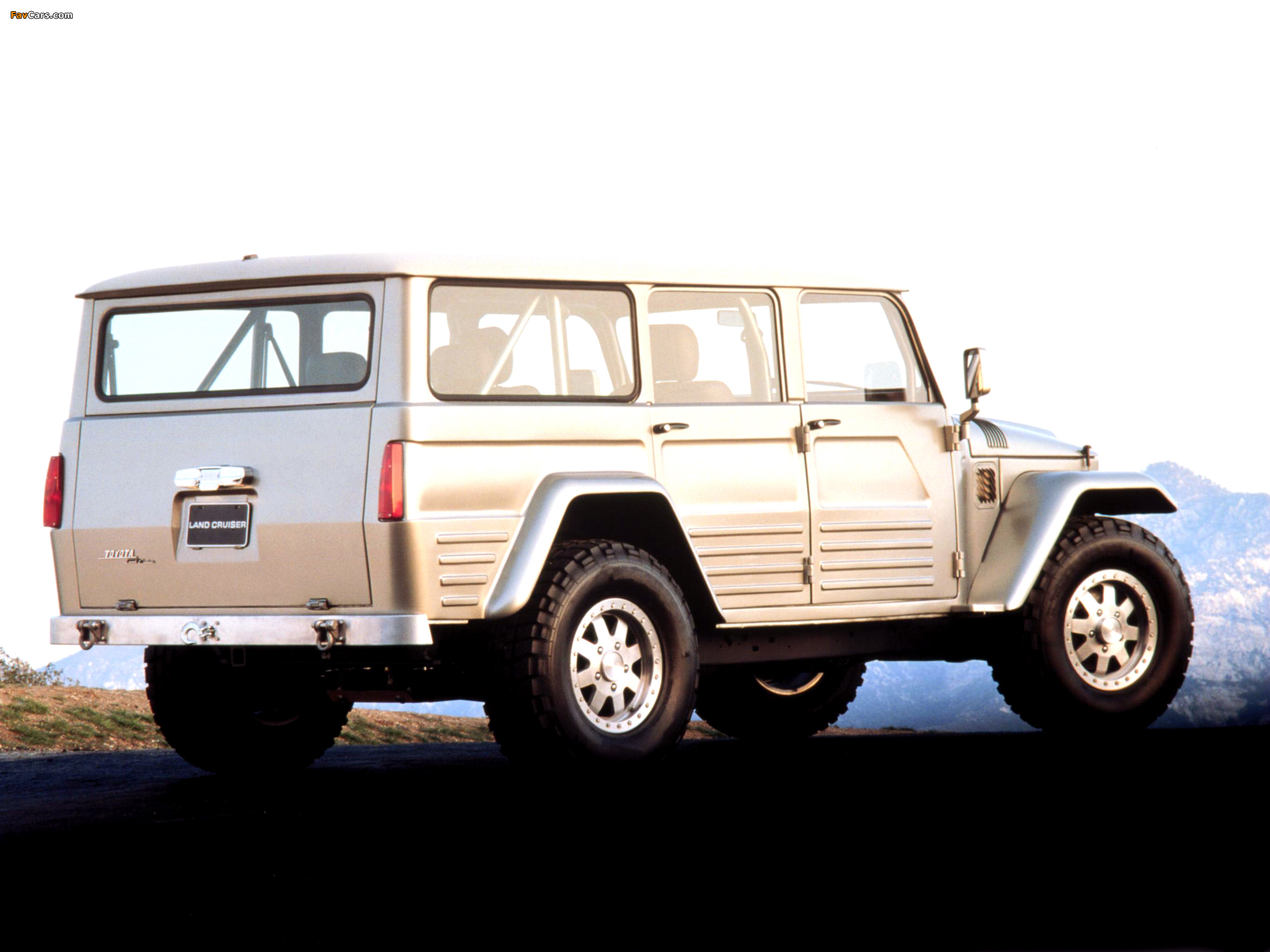 Wallpapers Of Toyota Land Cruiser Fj45 Concept 2003