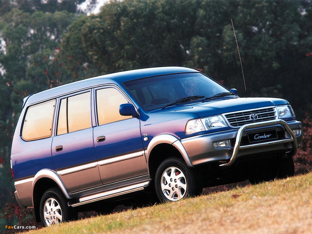 Toyota Condor Tx 1997 2002 Images 1024x768