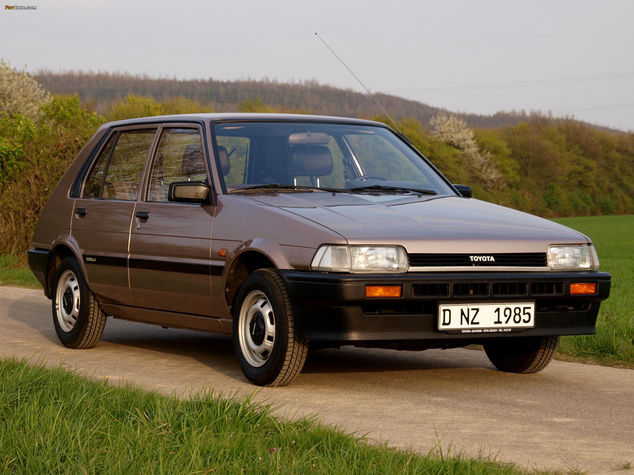 4 Door Corolla Toyota Corolla Compact 5-door