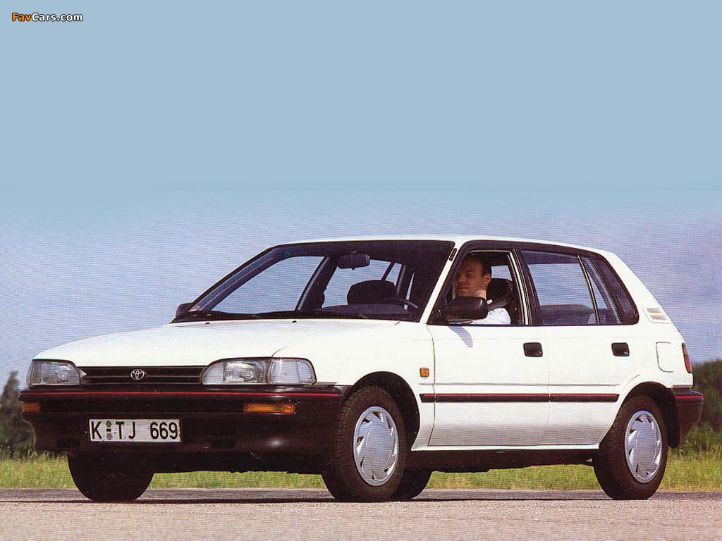 Toyota Corolla Compact 5 Door E90 1987 92 Photos 1024x768