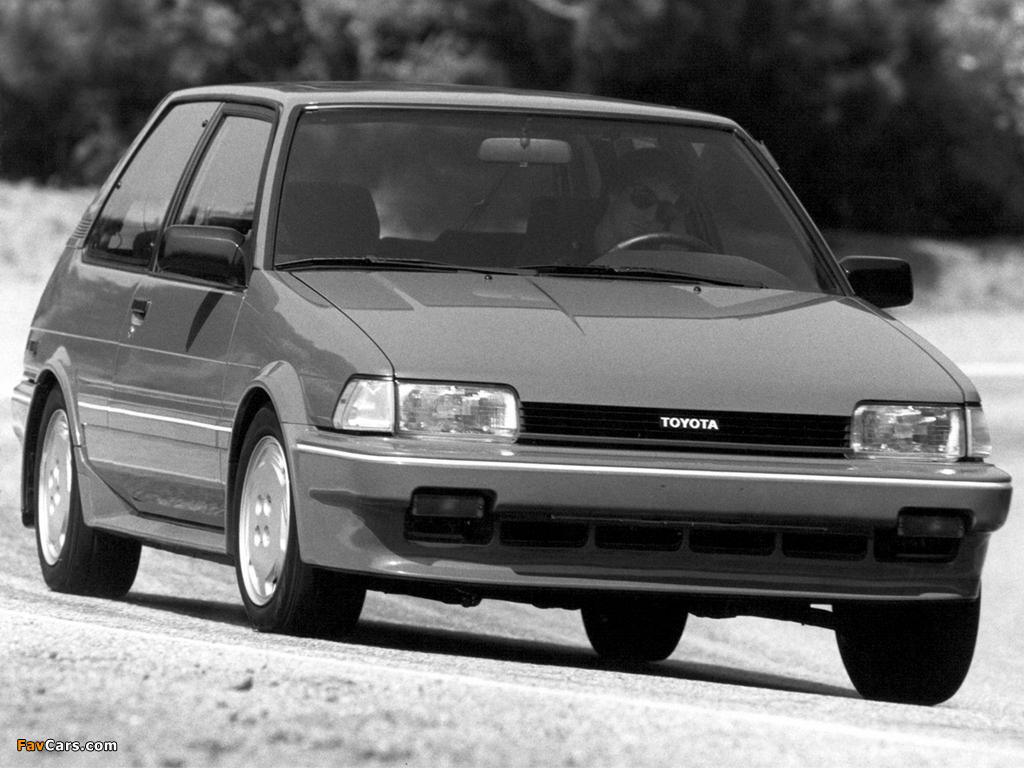 Toyota Corolla Fx16 Gt S Ae82 1987 88 Photos 1024x768