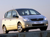 Pictures of Toyota Corolla Verso 2001–04