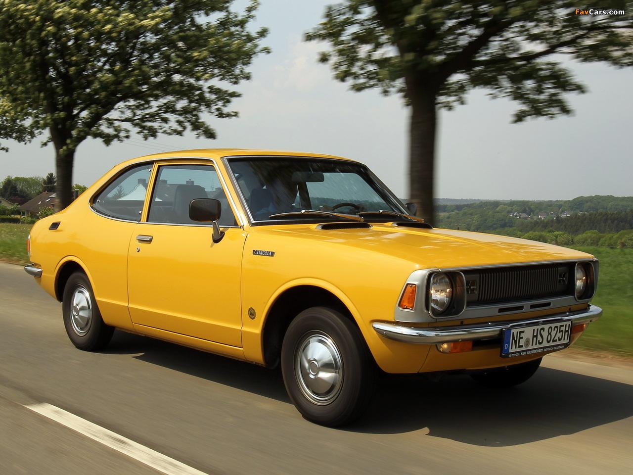 Pictures Of Toyota Corolla 2 Door Sedan Ke26 1970 74