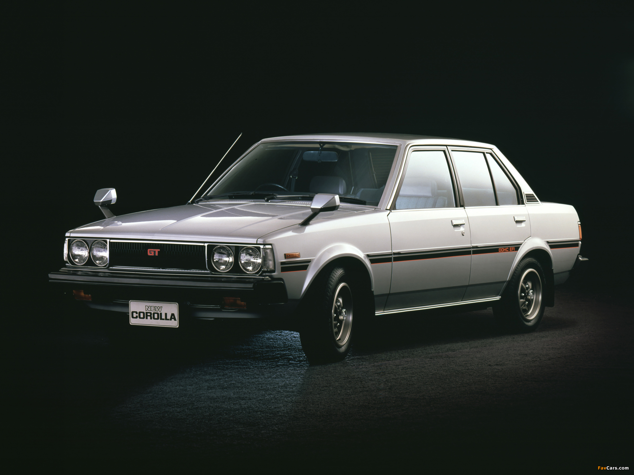 Toyota Corolla Sedan (E70) 1979–83 pictures (2048x1536)