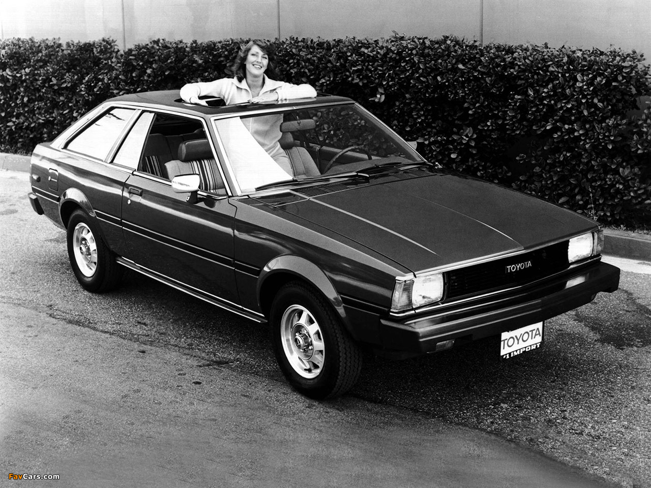 Toyota Corolla Sr5 Liftback Te72 1980 83 Wallpapers