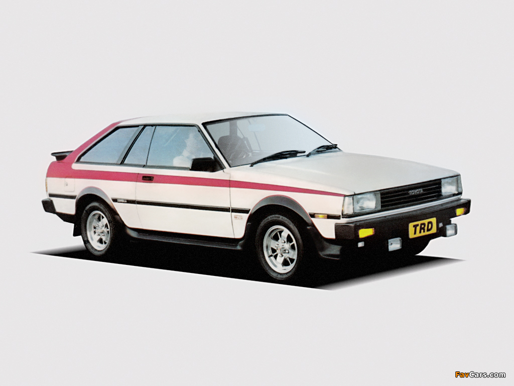Toyota Corolla 1800 Trd Liftback Te73 1983 Photos 1024x768